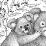 Koalas Ltd Ed Giclee Print