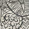 Lino Cut Print Of Owl Detail 3