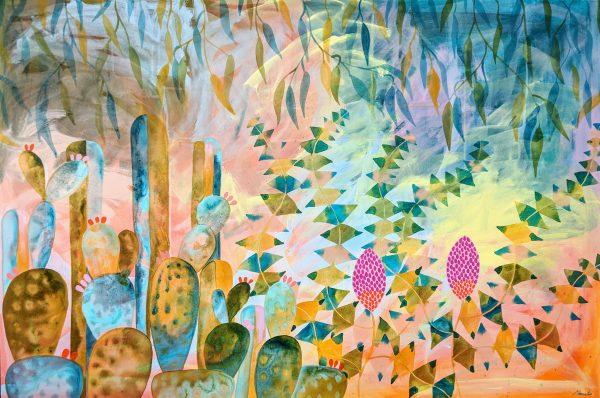 Banksia's In The Cacti Garden
