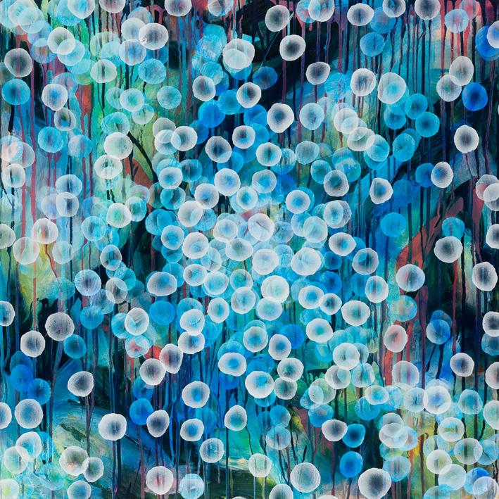 Bioluminous Swell Ii 92 X 92cm E