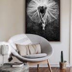 Young Dancer Ltd Ed print on canvas