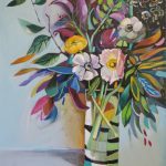 Abstract Still Life – Floral Song