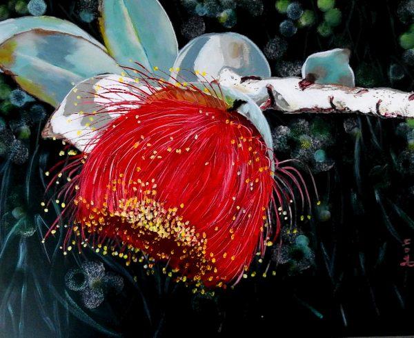 Gumnut Beauty High Res Juliehollisart Artlovers Australia