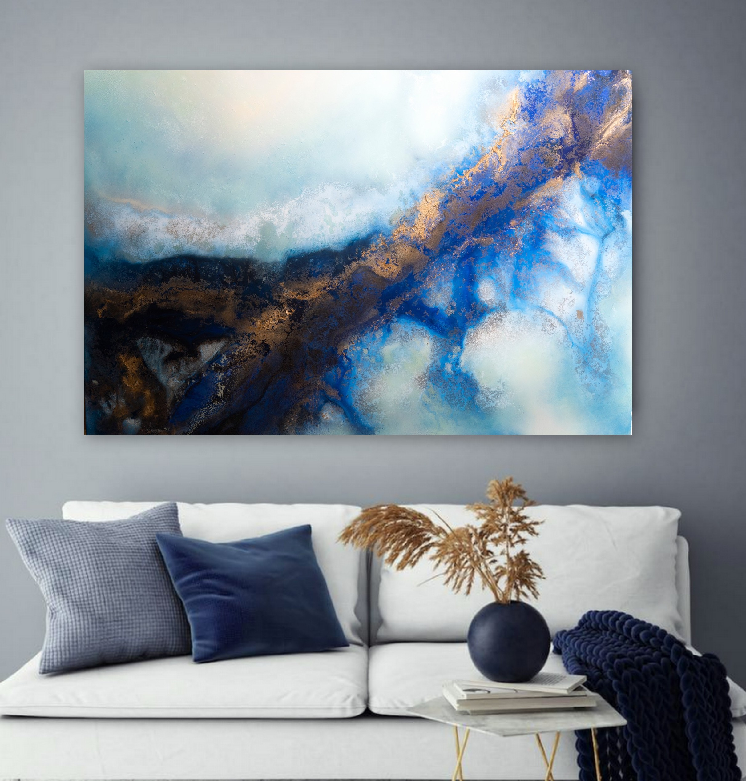 Large Ocean Wall Art Petra Meikle De Vlas3