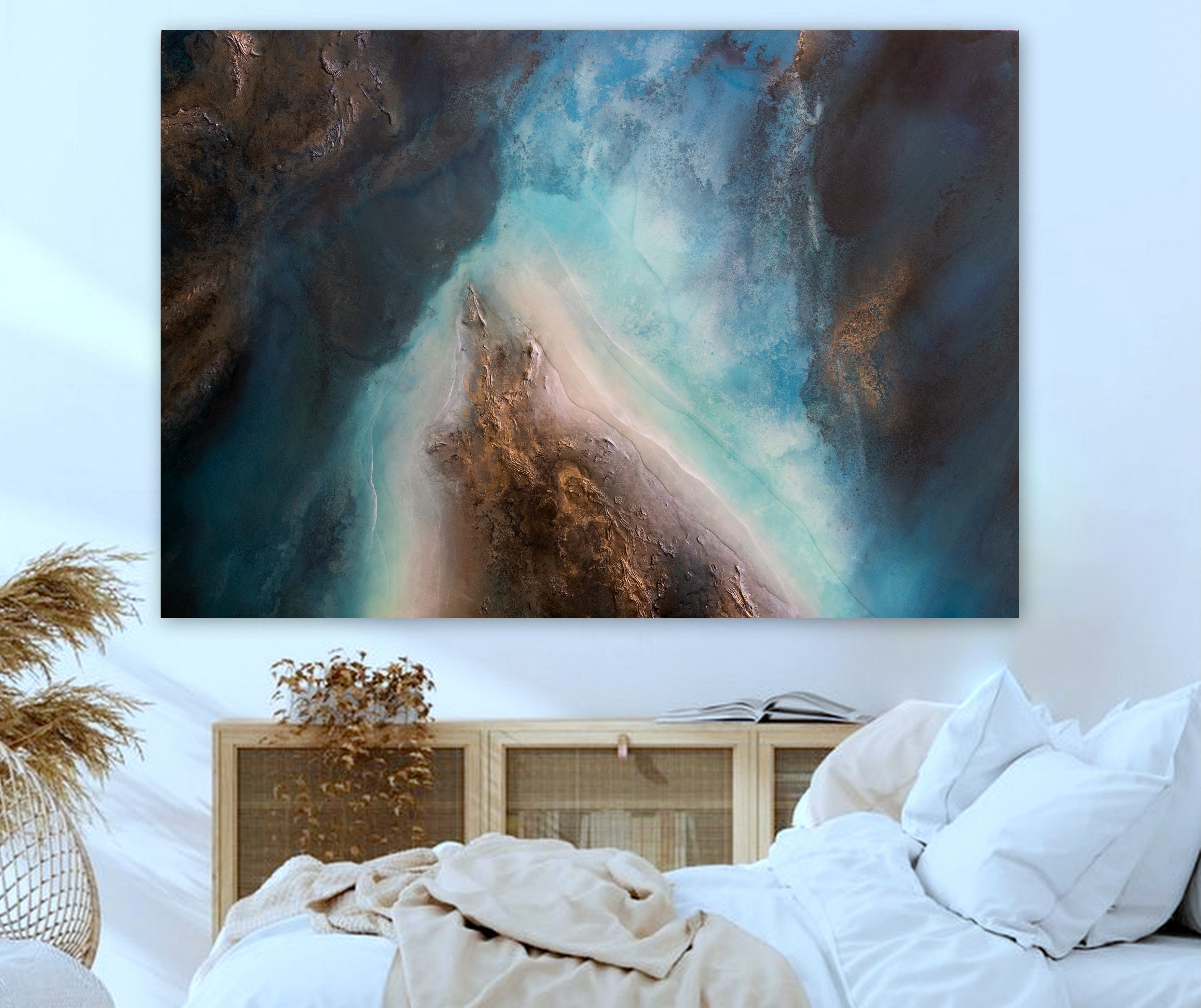 Large Ocean Wall Art Petra Meikle De Vlas4