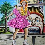 Prettier in Pink Ltd Ed Print on Canvas