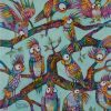 Raucous Caucus By Teresa Mundt Colorful Colourful Bird Galah Parrot Contemporary Quirky Art Painting