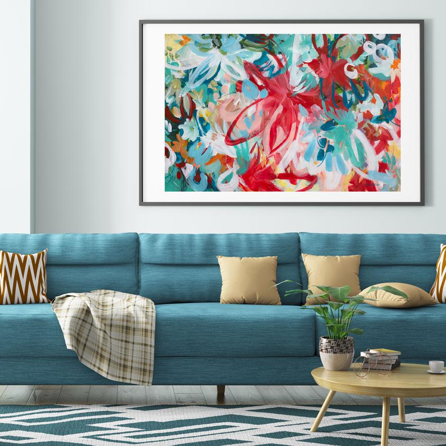 Tropical Beauty By Amber Gittins Artist Mockup 2