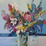 Abstract Still Life – Tulip with Lillies