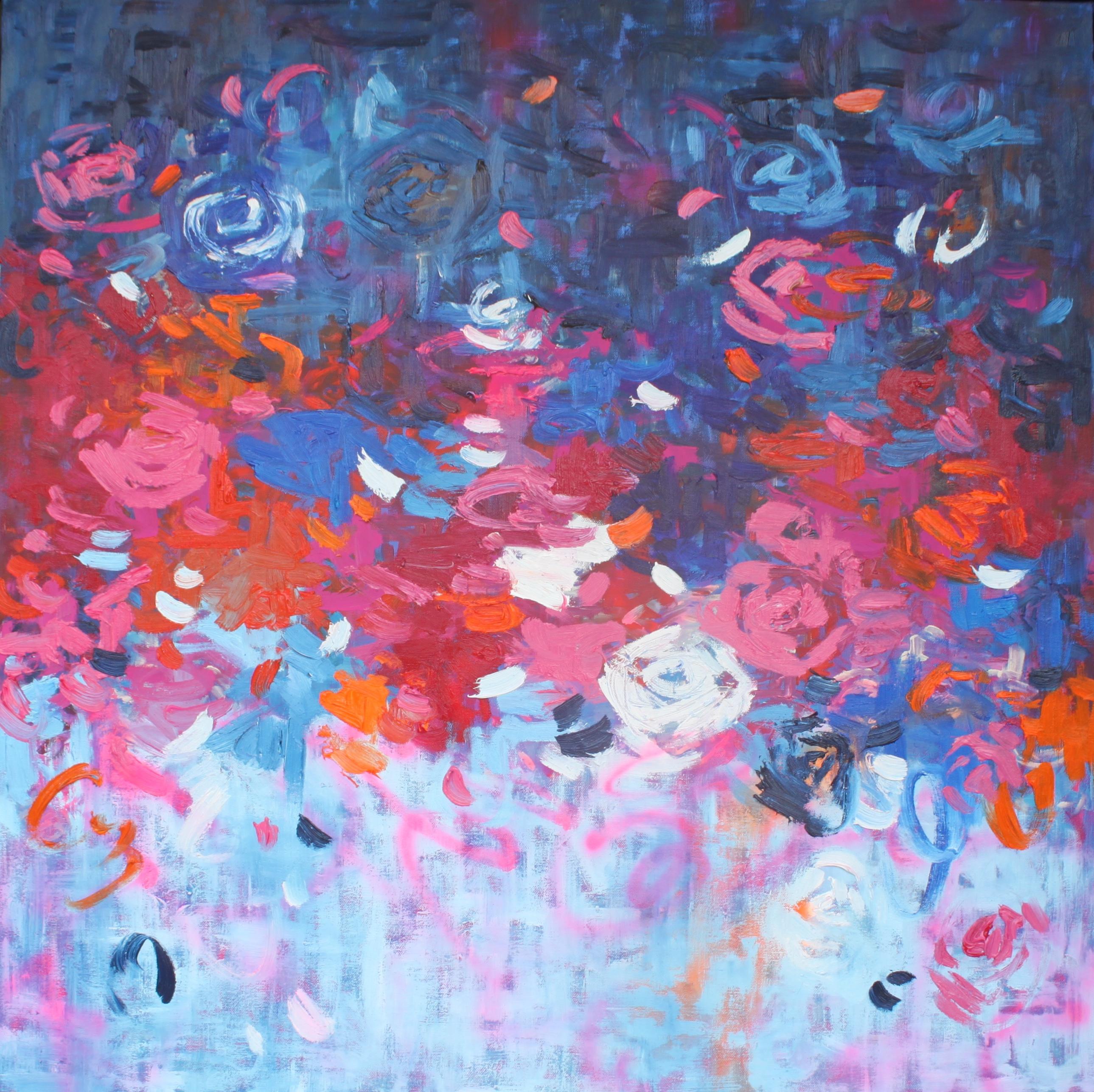 Belinda Nadwie Art Abstract Painting Sugar Is Sweet