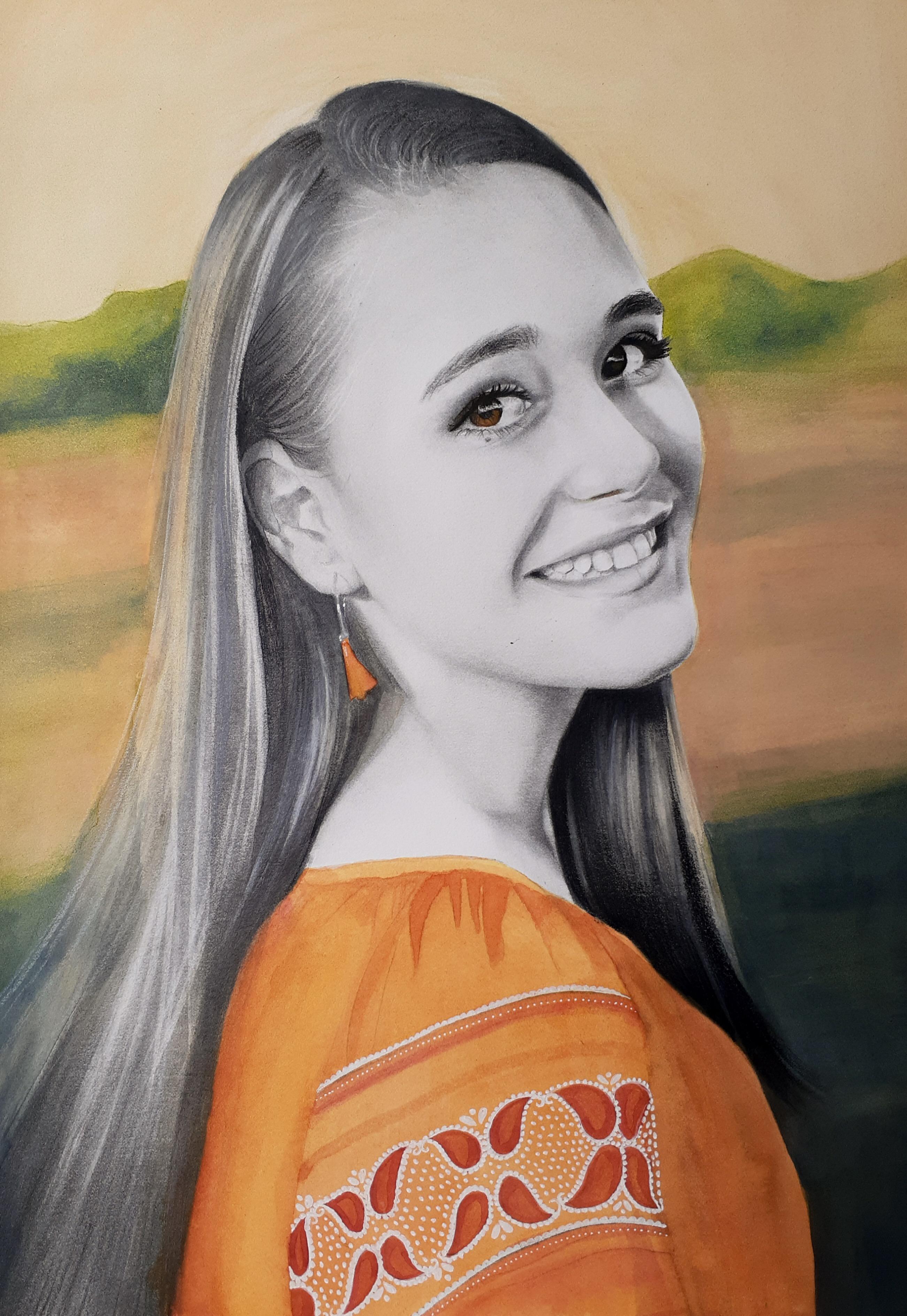 Portrait Of Madison By Kati Garrett Filho