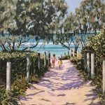 Down the Beach Path