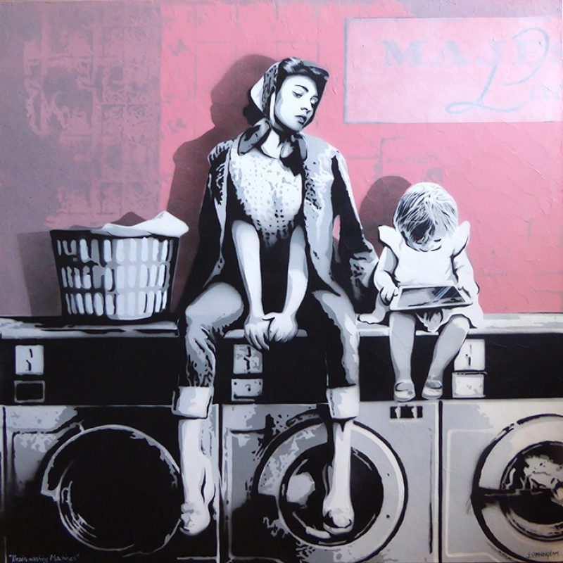 Brain Washing Machines Geoff Cunningham Art Lovers Australia