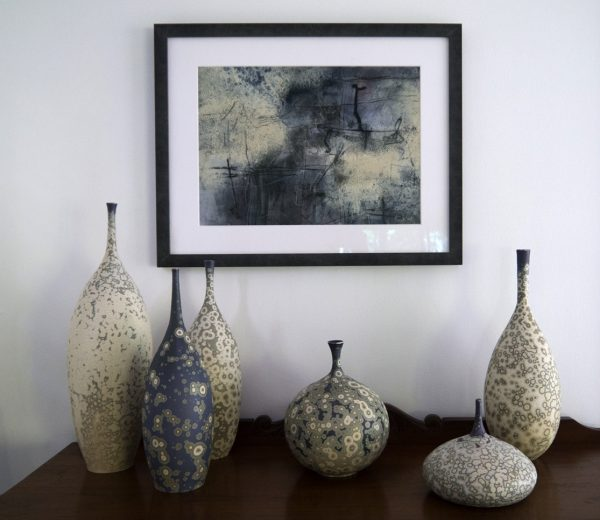 Edge Of Silence And Dens Porcelain Vessels