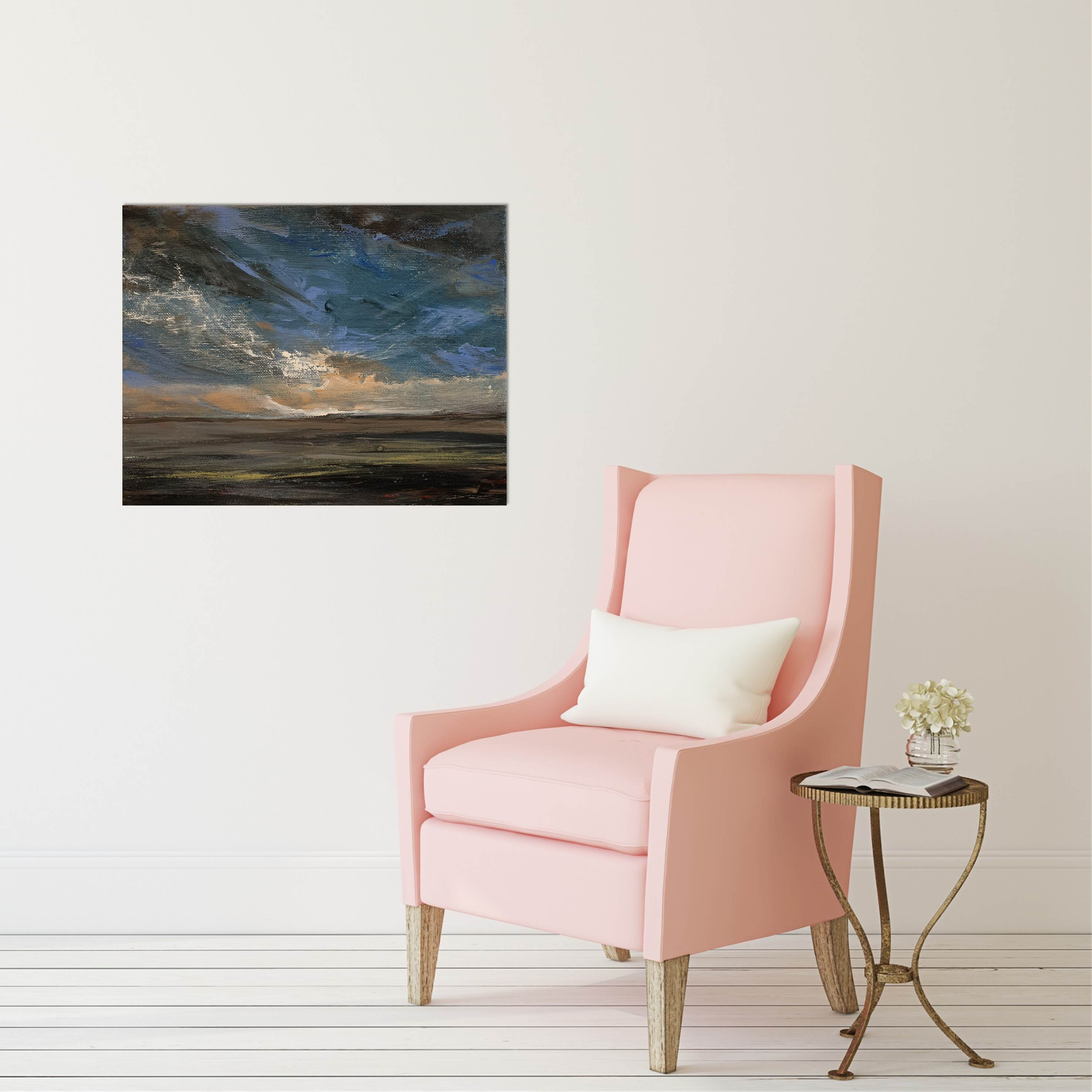 Glory With Pink Chair
