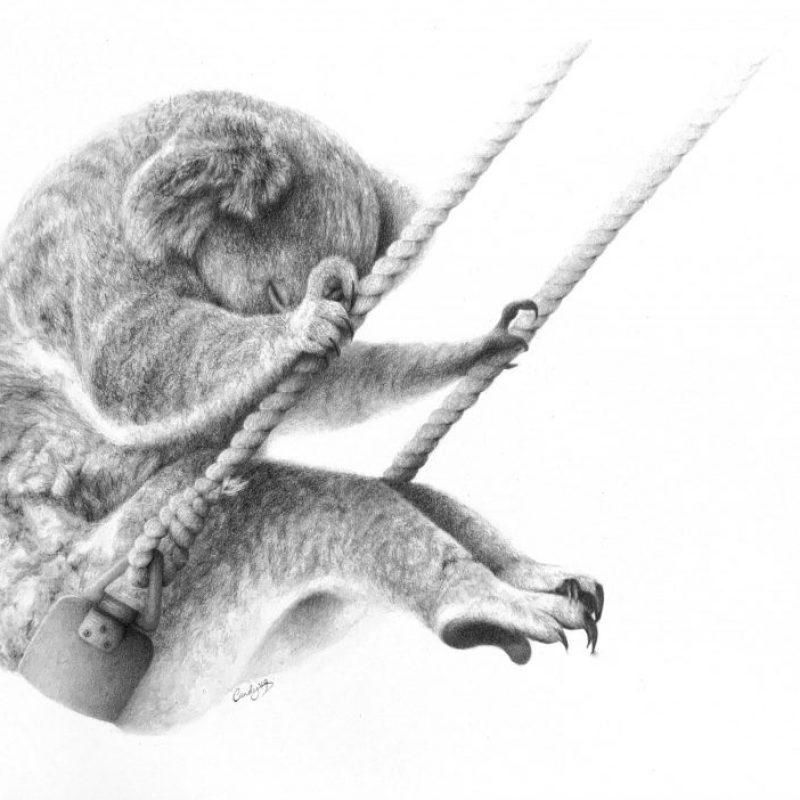 Koala Candace Slager Art Lovers Australia
