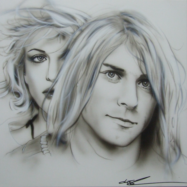 Kurt & Courtney Png