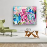 Modern Love – Oriental Lily Abstract