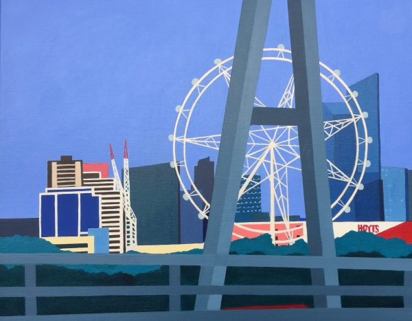 Melbourne Star Observation Wheel Marian Quigley Art Lovers Australia