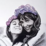 Portrait Commission – Vicky and Daughter