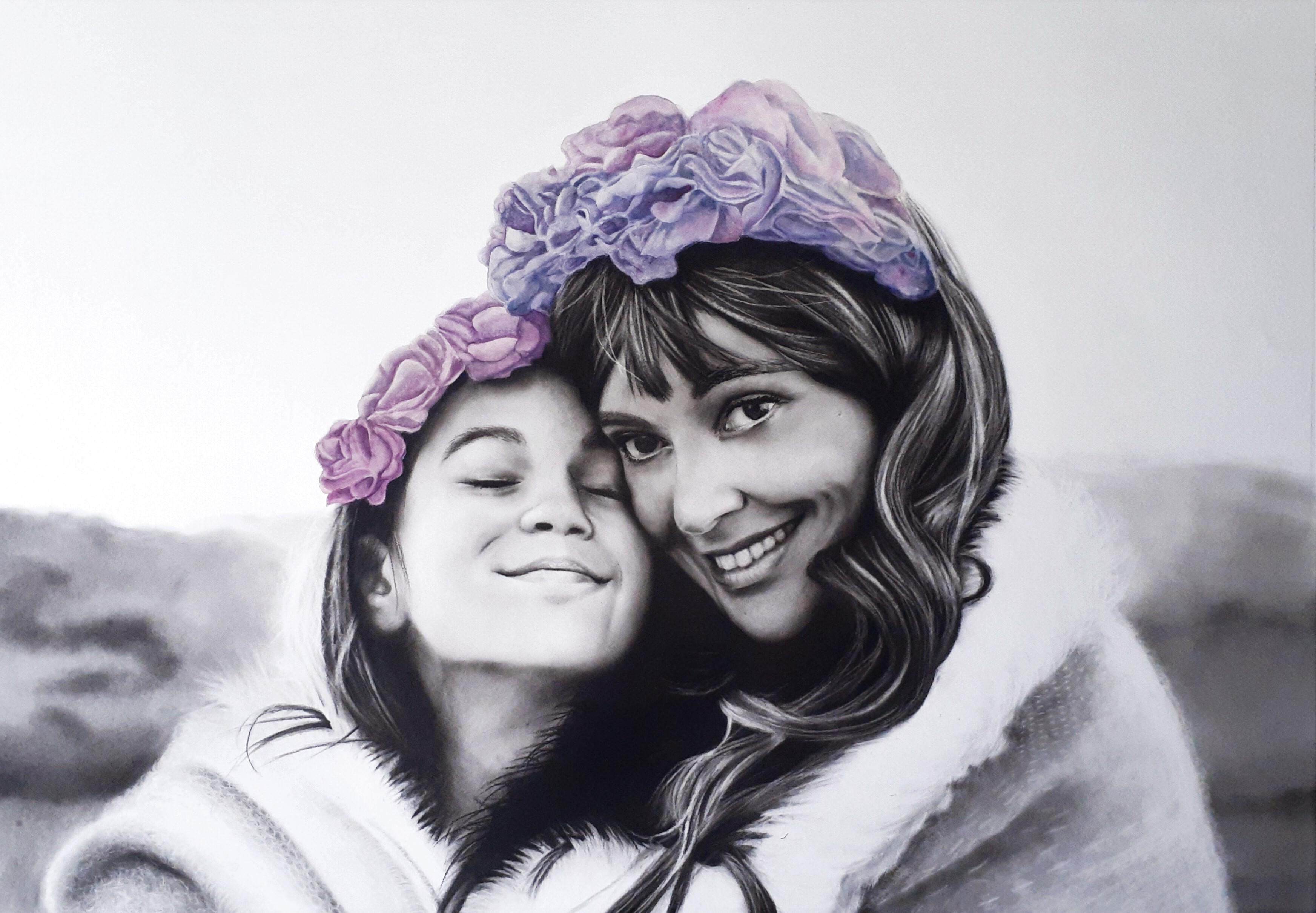Portrait Commission By Kati Garrett Filho