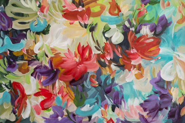 Tropical Water Lilies By Amber Gittins