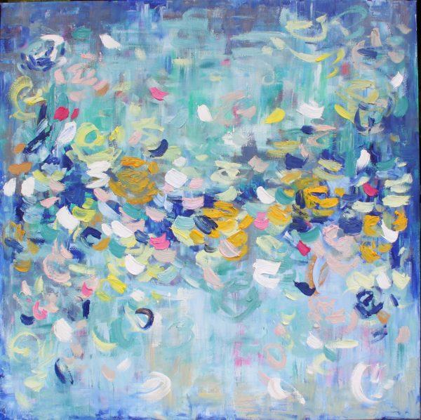 Belinda Nadwie Art Abstract Painting Loving You