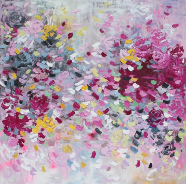 Belinda Nadwie Art Abstract Painting My Buttery Goodness