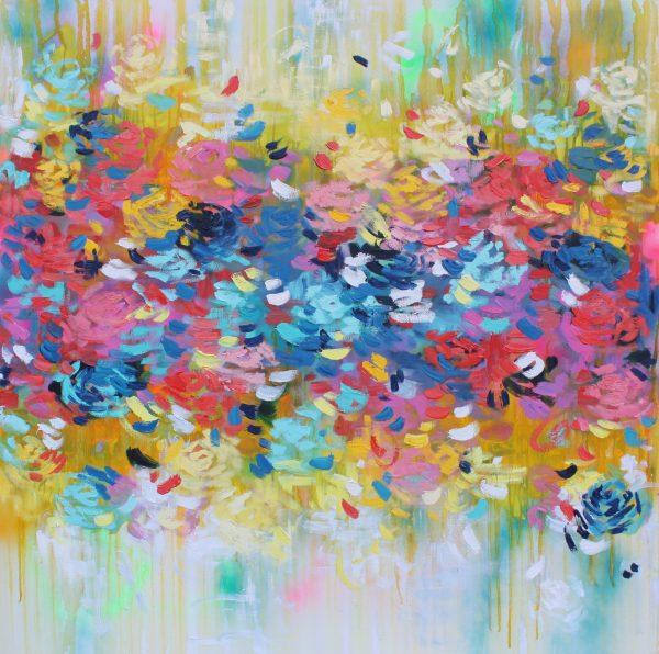 Belinda Nadwie Art Abstract Sunshine Of My Life