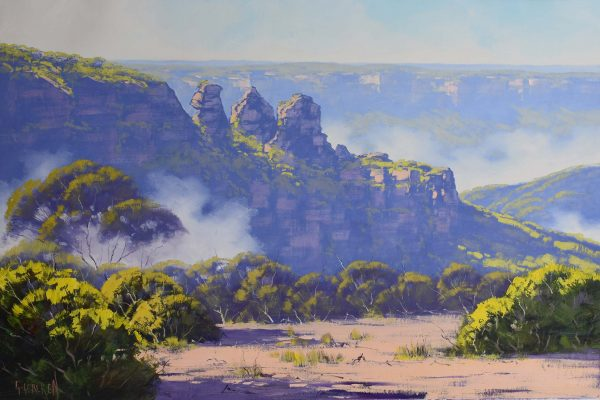 Blue Mountains Graham Gercken Art Lovers Australia