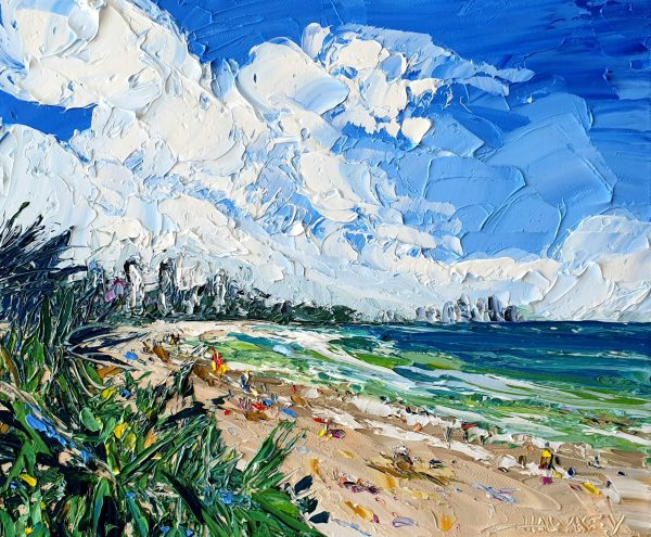 Burleigh Beach Angela Hawkey Art Lovers Australia