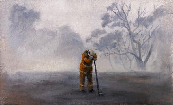 Bushfire Fundraiser Enough Maria Radun Art Lovers Australia