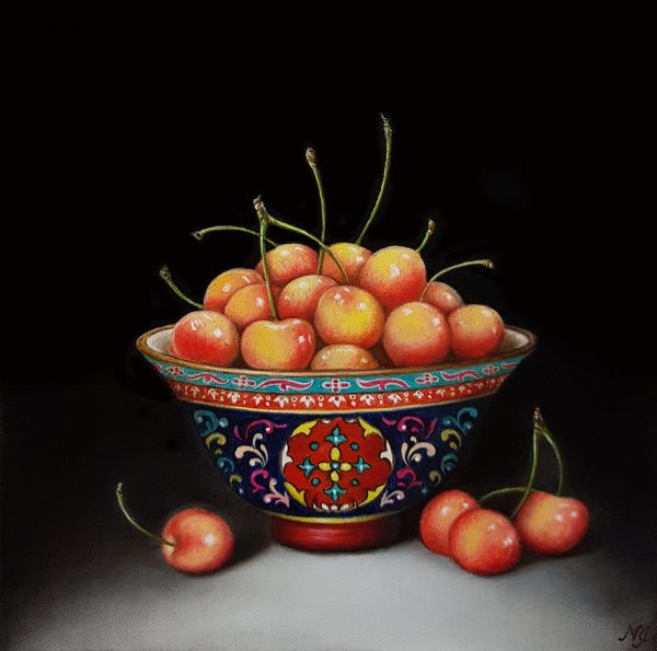 Cherries Benjarong Natasha Junmanee Art Lovers Australia