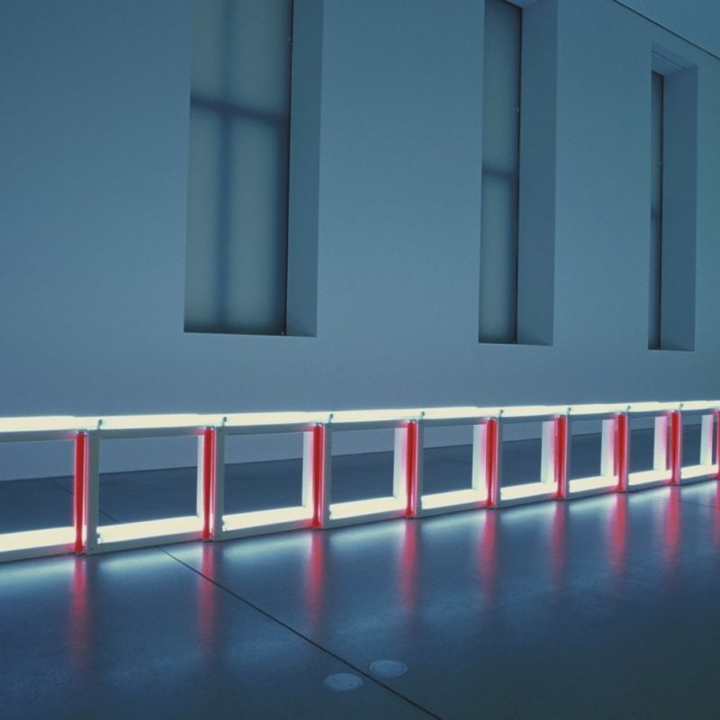 Dan Flavin Architecture Of Light
