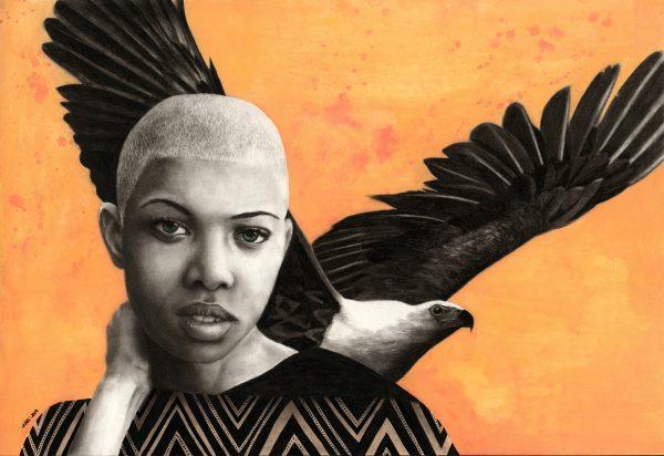 Eagle Huntress Kati Garrett Filho Art Lovers Australia