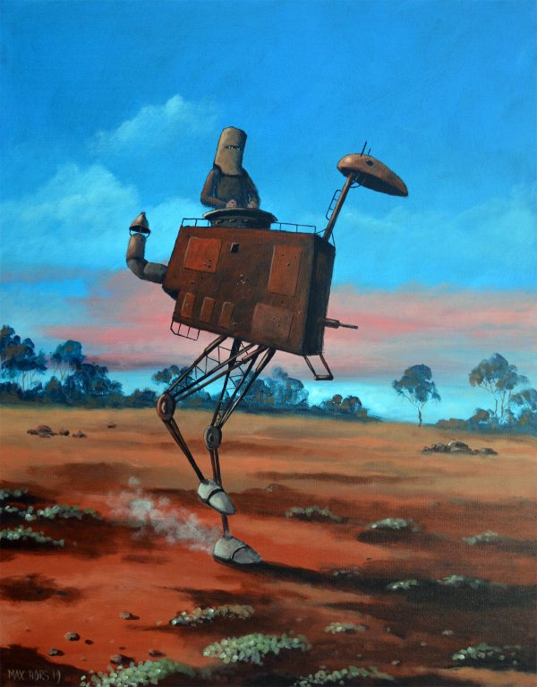 Ned Kelly And His Steaming Emu Max Horst Sokolowski Art Lovers Australia