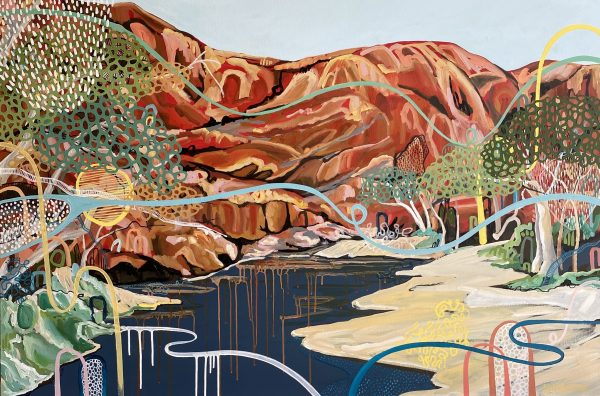 Ormiston Gorge Emma Nancarrow Art Lovers Australia