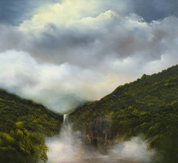 The Falls Elaine Green Art Lovers Australia