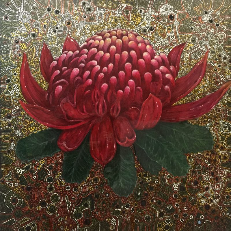 Waratah Grace Brown Art Lovers Australia