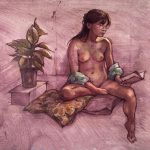 Female nude – Angela Reading