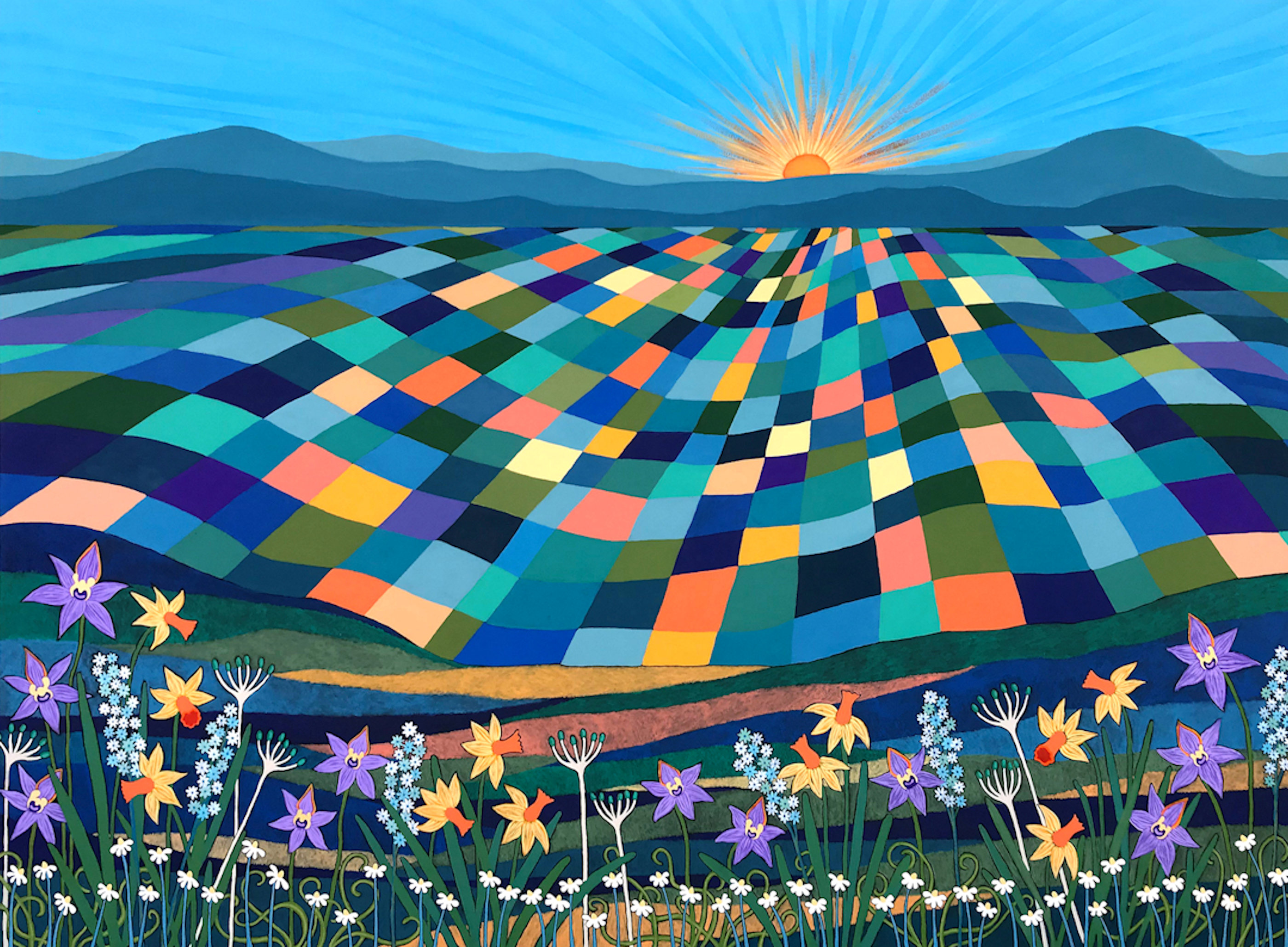 Bright Sun Shiny Day By Lisa Frances Judd 72dpi