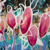 Cheeky Blooms By Amber Gittins Abstract Art