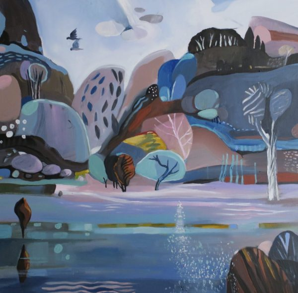 Mountain River 2 Susan Trudinger Landscape Art For Sale Art Lovers Australia