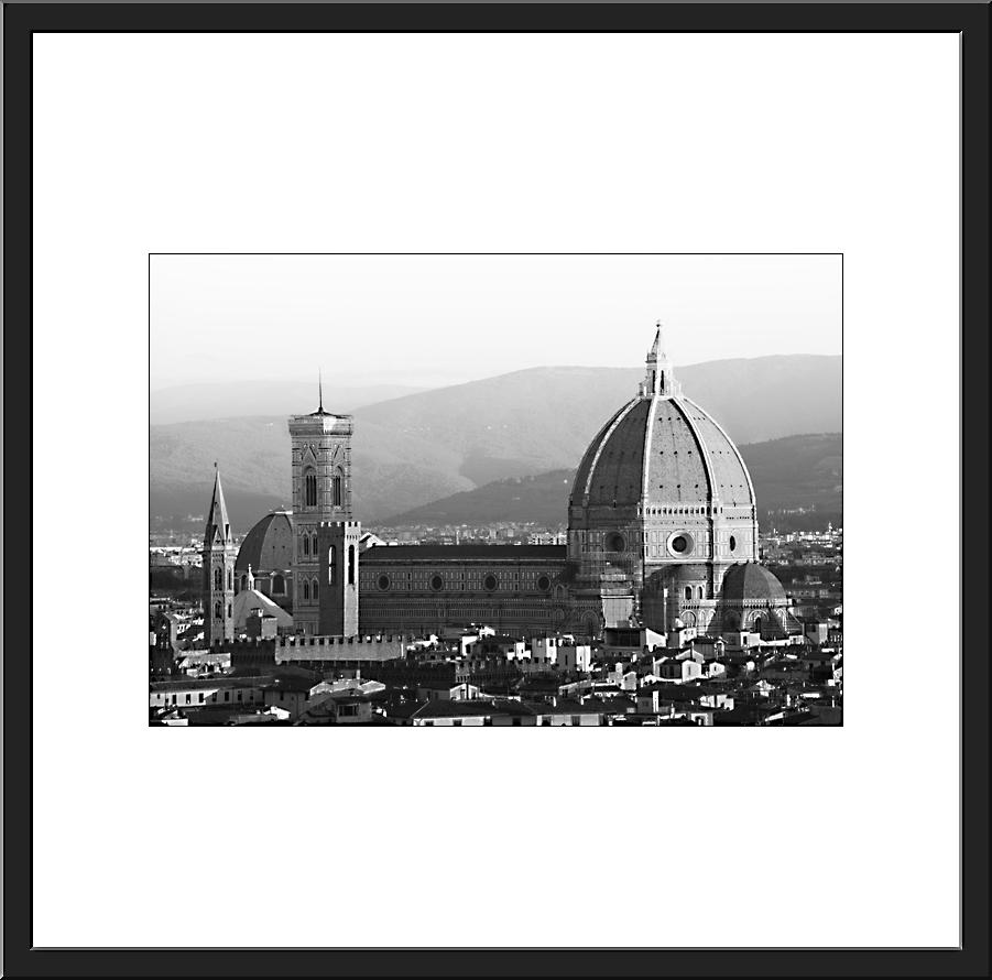 Pcb1519ob The Duomo Framed (s)