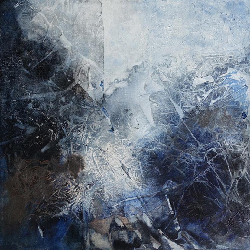 Patricia Walsh, 'light Shadows'. Acrylic On Linen. 61cm X 61cm