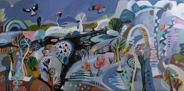 Wondering Susan Trudinger Landscapes For Sale Australian Art