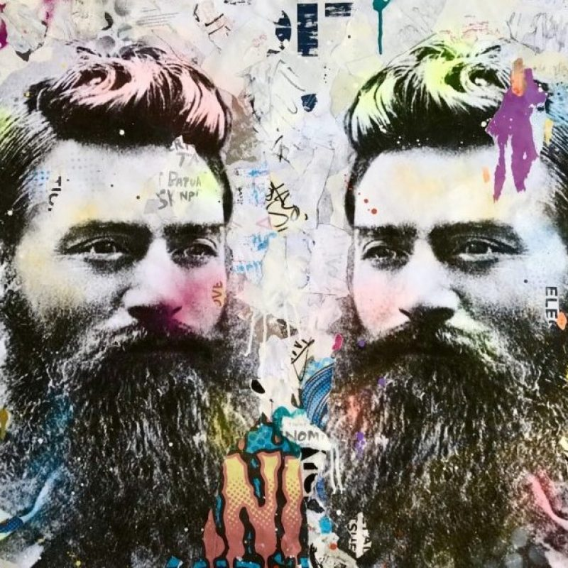 Coldghost Street Icon 177 Ned Kelly Art Lovers Australia
