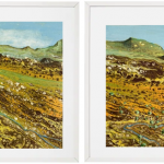 Australian Colours I and II – Diptych
