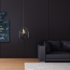Black Couch Panel Wall