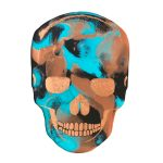COPPERHEAD – RESIN SKULL ART